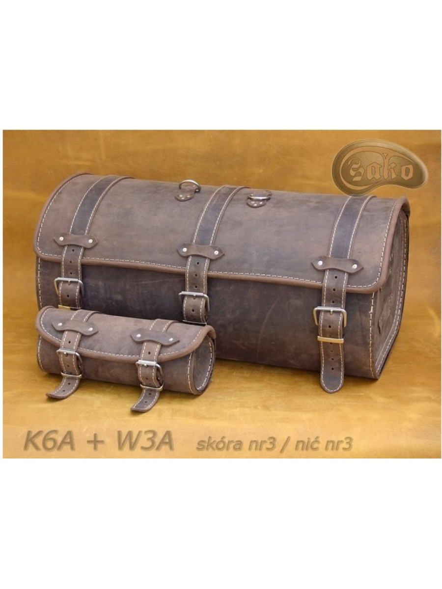 Задний кофр (Центральный) K06 Коричневый № 3