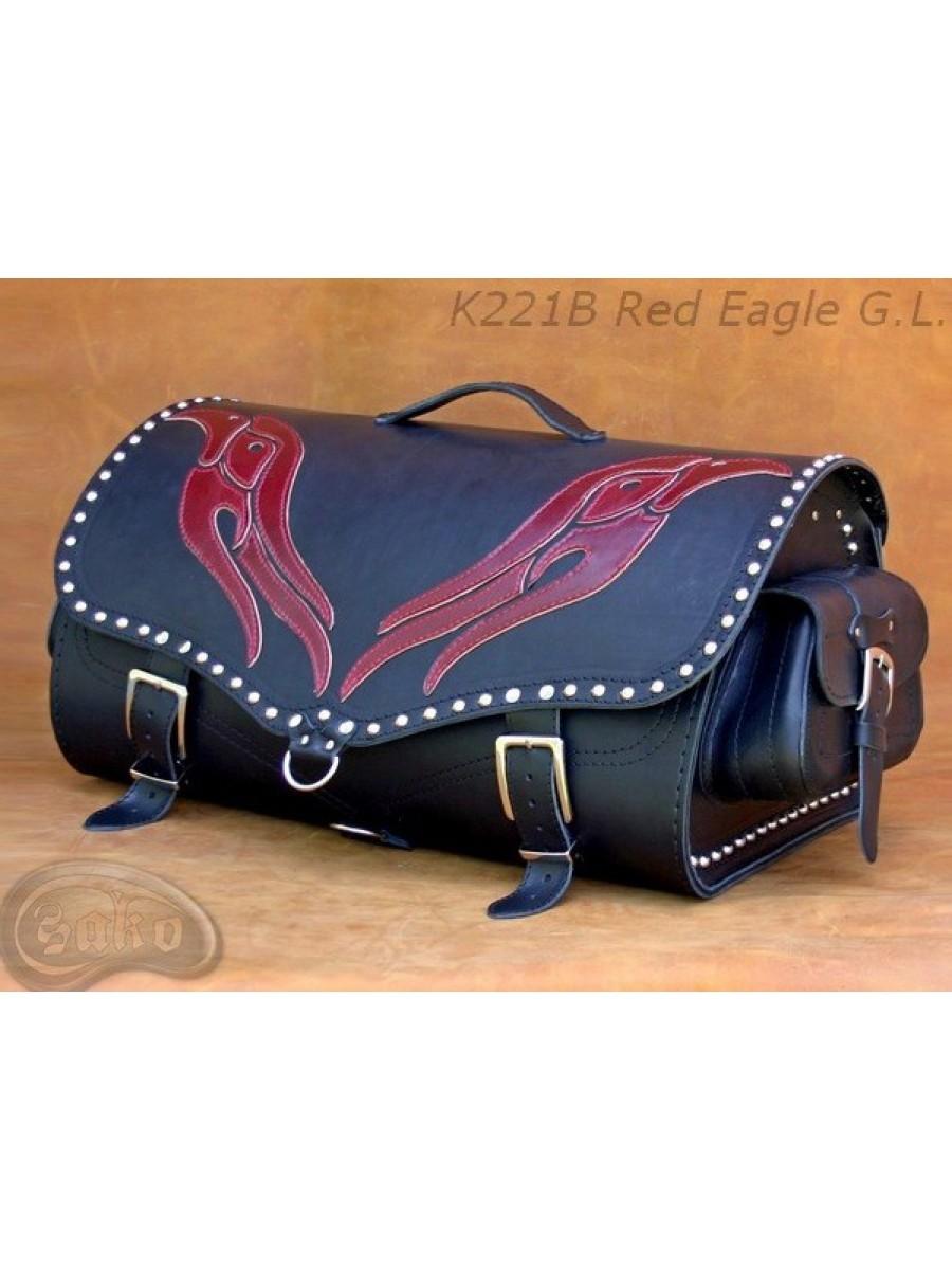 Задний кофр (Центральный) K221 Red Eagle