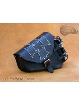Кофр на маятник S57 Мальтийский крест Harley Davidson Sportster