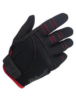 Moto Мотоперчатки - Черные/Красные