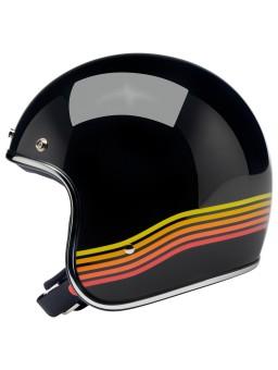 Шлем Bonanza - Глянцевый Black Spectrum