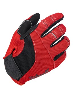 Moto Мотоперчатки - Красные/Черные/Белые